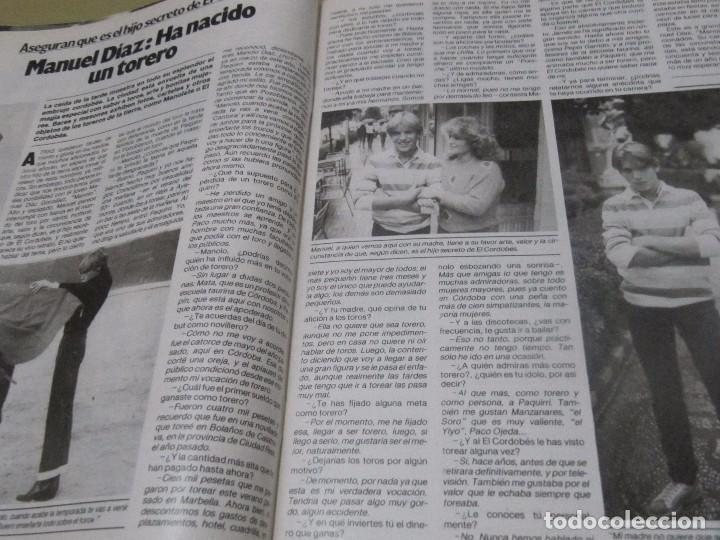 Coleccionismo de Revista Garbo: GARBO 12/84 LIZA MINELLI ABBA CORDOBES BROOKE SHIELDS ESTEFANIA DE MONACO TRUFFAUT HEPBURN - Foto 10 - 98908507