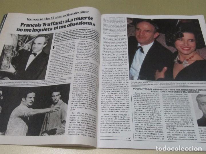 Coleccionismo de Revista Garbo: GARBO 12/84 LIZA MINELLI ABBA CORDOBES BROOKE SHIELDS ESTEFANIA DE MONACO TRUFFAUT HEPBURN - Foto 11 - 98908507