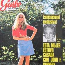 Colecionismo da Revista Garbo: GARBO 729 1967 MIKE JAGGER, FRANCE GALL, LOS BEATLES, RAQUEL WELCH, MARTINE CAROL, MARIANNE FAITHFUL. Lote 100618683