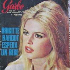 Colecionismo da Revista Garbo: GARBO 705 1966 BRIGITTE BARDOT, LOS BEATLES, PARKINSON, PETER TOWNSEND, GEORGE HAMILTON, MONACO. Lote 100619683