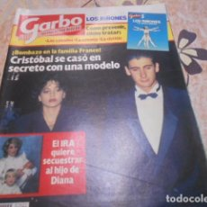 Coleccionismo de Revista Garbo: GARBO - 10 -12 -1984 - ANA OBREGON 2F -2P. Lote 100981371