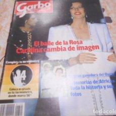 Coleccionismo de Revista Garbo: GARBO - 7 -4 -1986 - LUCIA BOSE 4F -3P. Lote 100982447