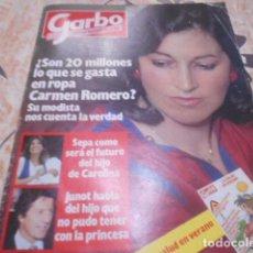 Coleccionismo de Revista Garbo: GARBO - 25 -6 - 1984 - PALOMA SAN BASILIO -2F -2P. Lote 100983067