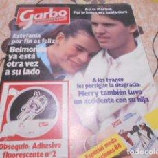 Coleccionismo de Revista Garbo: GARBO - 12-3 -1984 - MARISOL 8F -4P. Lote 100984783