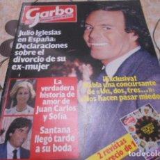 Coleccionismo de Revista Garbo: GARBO - 21-2 -1983 - UN,DOS,TRES 5F -3P - FARRAH FAWCETT -2F 1P. Lote 100986311
