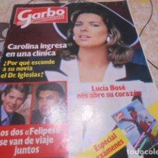 Coleccionismo de Revista Garbo: GARBO - 6 -6 -1983- LUCIA BOSE 7F -4P. Lote 100988199
