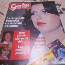 Coleccionismo de Revista Garbo: GARBO - 10 -1 -1983 - PALOMA SAN BASILIO 7F -2P - JOHN TRAVOLTA 2F -2P. Lote 100989731