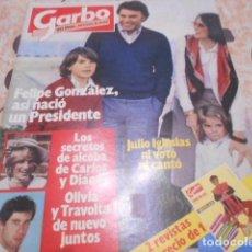 Coleccionismo de Revista Garbo: GARBO - 8 -11 -1982 - BO DEREK 7F -2P - JOHNNY HOLLIDAY 4F 2P . Lote 100991183