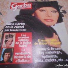 Coleccionismo de Revista Garbo: GARBO - 1 -6 -1982 - FARRAH FAWCETT 2F -1P - UN, DOS,TRES 2F -2P. Lote 100993887