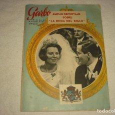 Coleccionismo de Revista Garbo: GARBO N°680 . LA BODA DEL SIGLO , BEATRIZ Y CLAUS DE HOLANDA. Lote 101780983