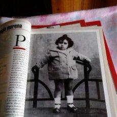 Coleccionismo de Revista Garbo: AÑO 1995 LOLA DE ESPAÑA COLECCION COMPLETA DE FASCICULOS Y CUBIERTAS LOLA FLORES CON FAMILIA. Lote 102635131