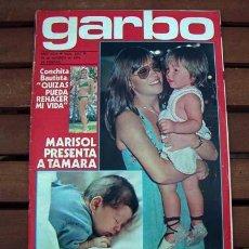 Coleccionismo de Revista Garbo: GARBO / MARISOL, PEPA FLORES, AMANDA LEAR, MARI TRINI, CORIN TELLADO, BLANCA ESTRADA, YEDA BROWN,. Lote 103627587