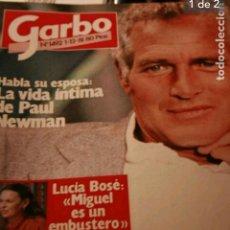 Coleccionismo de Revista Garbo: REVISTA GARBO. PAUL NEWMAN. AGNETHA ABBA 1980. Lote 103755272