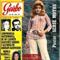 Coleccionismo de Revista Garbo: GARBO Nº 973 - 22 DICIEMBRE 1971 - CARMEN MARTINEZ BORDIU, MONICA RANDALL, CONCHITA BAUTISTA. Lote 103866211