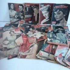 Coleccionismo de Revista Garbo: GRAN LOTE - REVISTA GARBO - AÑOS 50. Lote 103958543
