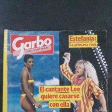 Coleccionismo de Revista Garbo: GARBO-1985-ESTEFANIA-JULIO IGLESIAS-BRUCE SPRINGSTEEN-ROSEMARY MCGROTHA-ISABEL PREYSLER-IBIZA. Lote 104667203