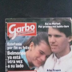Coleccionismo de Revista Garbo: GARBO-1984-ESTEFANIA-ROMINA POWER-MARISOL-JULIO IGLESIAS-SILVIA MUNT. Lote 104668227