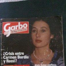 Coleccionismo de Revista Garbo: GARBO-1982-MECANO-ESTEFANIA-CARMEN ROSSI-MASSIEL-DUQUESA ALBA-UN DOS TRES-DALLAS-ROMY SCHNEIDER. Lote 104823147