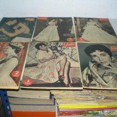 Coleccionismo de Revista Garbo: LOTE DE REVISTAS GARBO DE LOS AÑOS 50 CON 19 EJEMPLARES. Lote 104862707