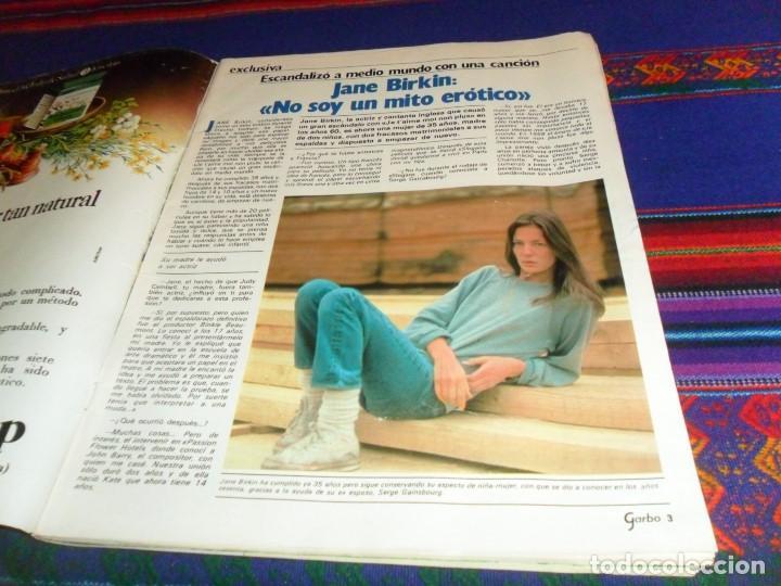 Coleccionismo de Revista Garbo: GARBO 1522. 22-6-82. MUERTE DE GALA DALÍ AL BANO ROMINA POWER JANE BIRKIN GINA LOLLOBRIGIDA LADY DI. - Foto 2 - 105257003
