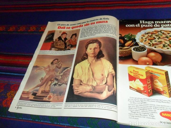Coleccionismo de Revista Garbo: GARBO 1522. 22-6-82. MUERTE DE GALA DALÍ AL BANO ROMINA POWER JANE BIRKIN GINA LOLLOBRIGIDA LADY DI. - Foto 3 - 105257003