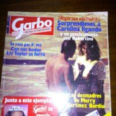 Coleccionismo de Revista Garbo: REVISTA GARBO, CAROLINA LIGANDO, AGOSTO 1983, NUMERO 1583. Lote 105385524