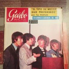 Coleccionismo de Revista Garbo: GARBO Nº 631 - THE BEATLES EN PORTADA - 1965. Lote 105685551