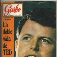 Coleccionismo de Revista Garbo: REVISTA GARBO Nº 865, 1 OCTUBRE 1969. TED KENNEDY, OMAR SHARIF, ANTONIO GADES, INGRID BERGMAN. Lote 107862147