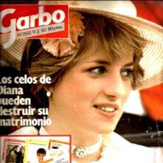 Coleccionismo de Revista Garbo: GARBO 1503 ( AÑO 1982) LADY DI + CHANQUETE ( ANTONIO FERRANDIZ) + PALOMA SAN BASILIO. Lote 109501683
