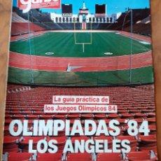 Coleccionismo de Revista Garbo: GARBO - ESPECIAL - OLIMPIADAS 84 LOS ANGELES. Lote 110572615