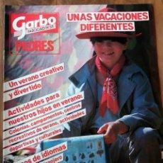 Coleccionismo de Revista Garbo: GARBO - ESPECIAL PADRES - FASCICULO Nº 55 - UNAS VACACIONES DIFERENTES. Lote 110576339