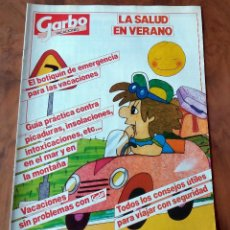 Coleccionismo de Revista Garbo: GARBO - VACACIONES - LA SALUD EN VERANO. Lote 110893023