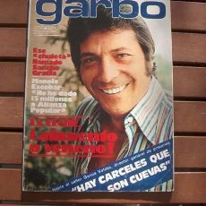 Coleccionismo de Revista Garbo: GARBO / MANOLO ESCOBAR, SANCHO GRACIA, MARCIA BELL, BEATRIZ ESCUDERO, LOS AMAYA, PAJARES, DELON. Lote 110995339
