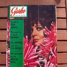 Coleccionismo de Revista Garbo: GARBO / SARA MONTIEL, GILBERT BECAUD, CHARLIE RIVEL, MILVA, AZNAVOUR, BRIGITTE BARDOT, YUL BRYNNER. Lote 112474383