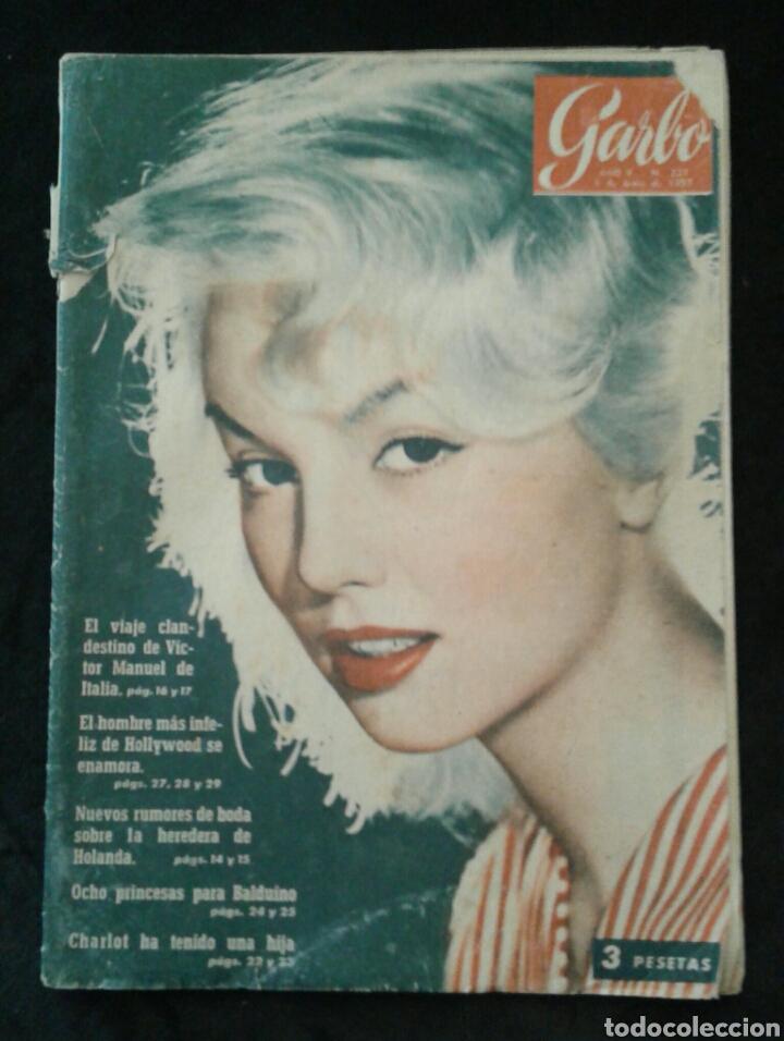REVISTA GARBO NÚM. 221, 1957 (Coleccionismo - Revistas y Periódicos Modernos (a partir de 1.940) - Revista Garbo)