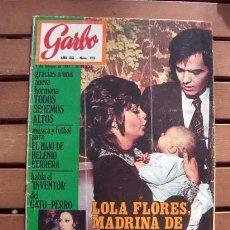 Coleccionismo de Revista Garbo: REVISTA GARBO / ROCIO DURCAL, MARILYN MONROE, ANGEL PICAZO, LUCIANA WOLF / 1971. Lote 112793923