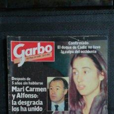 Coleccionismo de Revista Garbo: GARBO 1984-UN DOS TRES-CARMEN ROSSI-CAROLINA-DIANA-JUAN PARDO-. Lote 112884775