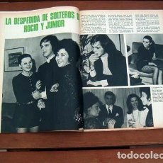 Coleccionismo de Revista Garbo: GARBO / ROCIO DURCAL, JUNIOR, DEWI SUKARNO, MASSIEL, LUCIA BOSE, BRUNO LOMAS. Lote 113252123
