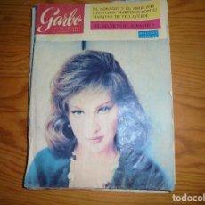 Coleccionismo de Revista Garbo: REVISTA GARBO Nº 642, JUNIO 1965. MONTMARTRE ; BRIGITTE BARDOT ; FRANÇOISE HARDY. Lote 113356907