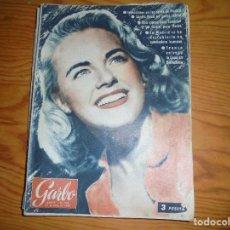 Coleccionismo de Revista Garbo: REVISTA GARBO Nº 223, JUNIO 1957. FRANCO ENTREGA LA COPA EN BARCELONA . Lote 113357123