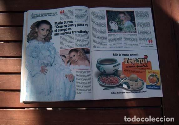 Coleccionismo de Revista Garbo: Garbo / ORNELLA MUTI, MARIA DURAN de ACUARIO, DEMIS ROUSSOS, ANA BELEN, LOS GOLFOS, NURIA ESPERT - Foto 2 - 114895691