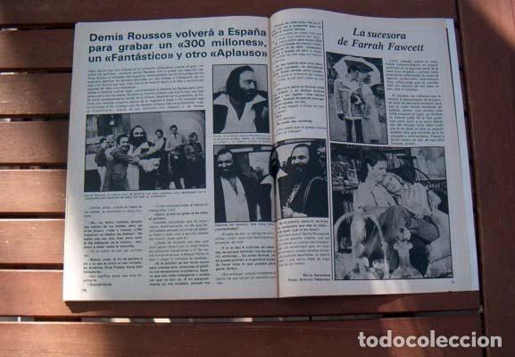 Coleccionismo de Revista Garbo: Garbo / ORNELLA MUTI, MARIA DURAN de ACUARIO, DEMIS ROUSSOS, ANA BELEN, LOS GOLFOS, NURIA ESPERT - Foto 3 - 114895691