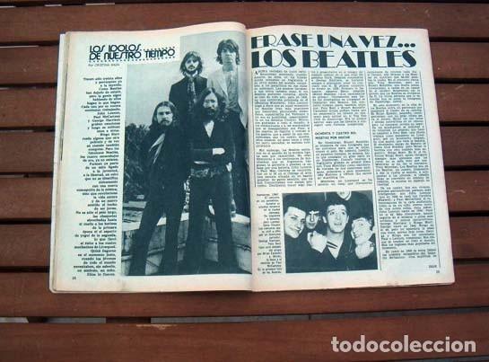Coleccionismo de Revista Garbo: Garbo / MARISOL, THE BEATLES, LINA MORGAN, VICTOR MANUEL, MARY CARMENY SUS MUÑECOS - Foto 2 - 115118579
