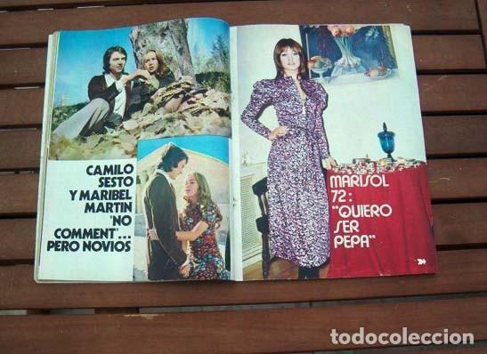 Coleccionismo de Revista Garbo: Garbo / MARISOL, THE BEATLES, LINA MORGAN, VICTOR MANUEL, MARY CARMENY SUS MUÑECOS - Foto 3 - 115118579