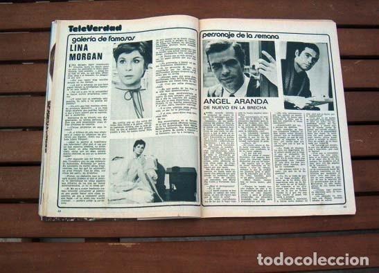 Coleccionismo de Revista Garbo: Garbo / MARISOL, THE BEATLES, LINA MORGAN, VICTOR MANUEL, MARY CARMENY SUS MUÑECOS - Foto 4 - 115118579