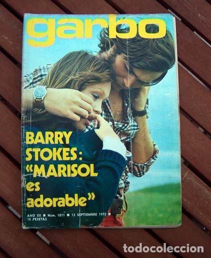 GARBO / MARISOL, BARRY STOKES, JANE BIRKIN, SERGE GAINSBOURG, HOMBRE, LAUREN BACALL, DUQUESA DE ALBA (Coleccionismo - Revistas y Periódicos Modernos (a partir de 1.940) - Revista Garbo)