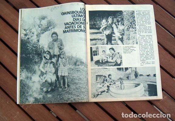 Coleccionismo de Revista Garbo: Garbo / MARISOL, BARRY STOKES, JANE BIRKIN, SERGE GAINSBOURG, HOMBRE, LAUREN BACALL, DUQUESA DE ALBA - Foto 2 - 117429663