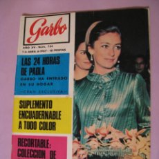 Coleccionismo de Revista Garbo: REVISTA GARBO. Nº 734. 1 ABRIL 1967. . Lote 118029667