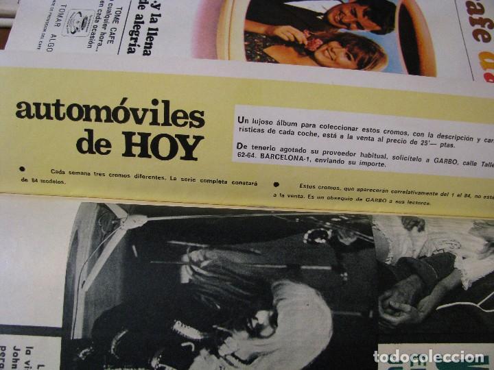 Coleccionismo de Revista Garbo: REVISTA GARBO. Nº 734. 1 ABRIL 1967. - Foto 4 - 118029667