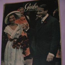 Coleccionismo de Revista Garbo: REVISTA GARBO. Nº 234. 7 SEPTIEMBRE 1957.. Lote 118032035